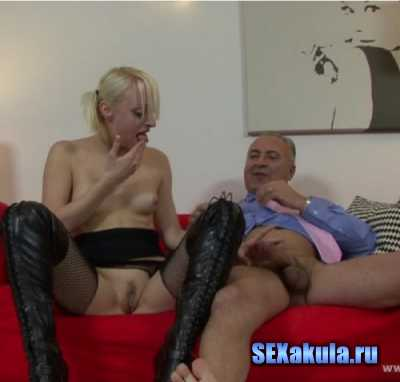 Grandfather took himself lustful student and fucked her (2014/HD)